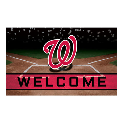 Washington Nationals Crumb Rubber Door Mat