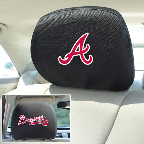 Atlanta Braves Embroidered Head Rest Covers