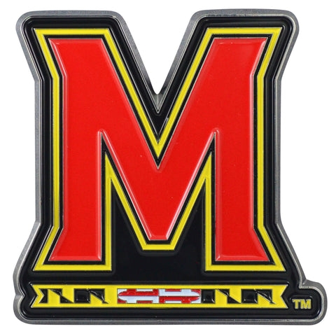 "Maryland Color Metal Emblem 3.1""x3.2"""
