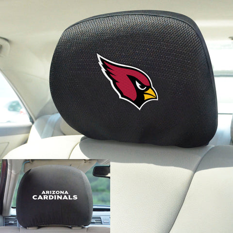 NFL - Arizona Cardinals Head Rest Covers with Embroidered Logos