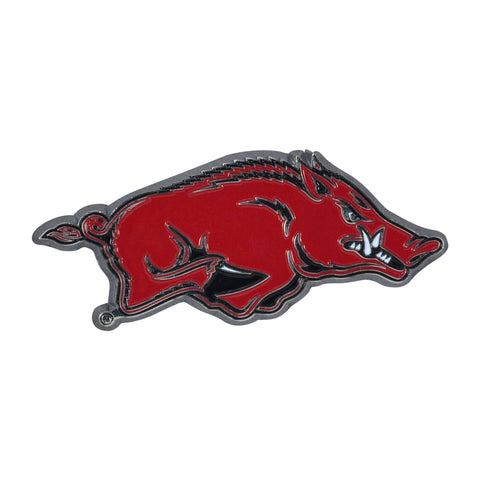 "Arkansas Color Metal Emblem 1.4""x3.2"""