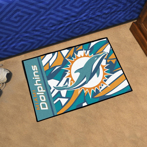 sharmikes area dolphins quick snap miami rug mat collections roundel