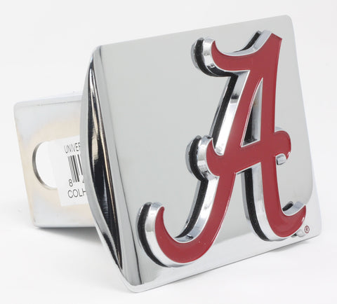 "Alabama Color Metal Hitch Chrome 3.4""x4"""