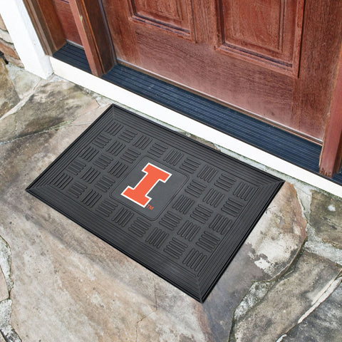 "Illinois Door Mat 19.5""x31.25"""