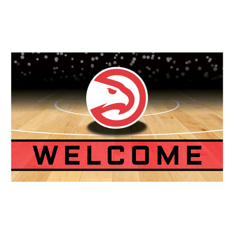 Atlanta Hawks Crumb Rubber Door Mat