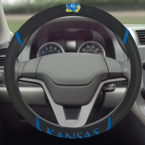"Kansas Steering Wheel Cover 15""x15"""