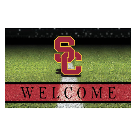 USC Southern California Crumb Rubber Door Mat
