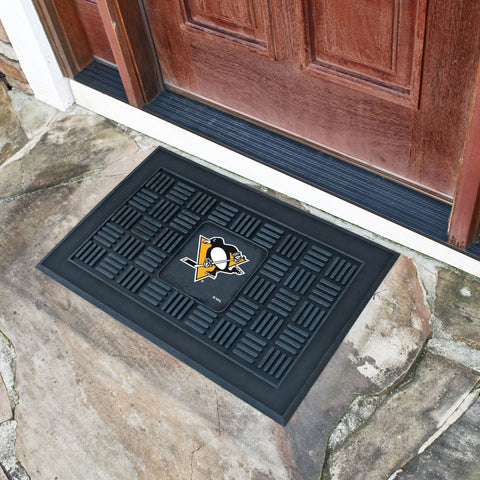 "Pittsburgh Penguins Door Mat 19.5""x31.25"""