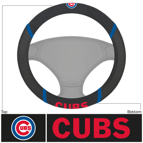 MLB - Chicago Cubs Embroidered Steering Wheel Cover
