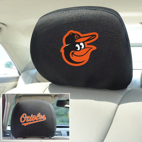 Baltimore Orioles Embroidered Head Rest Covers
