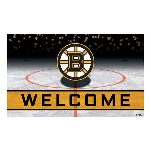 Boston Bruins Crumb Rubber Door Mat