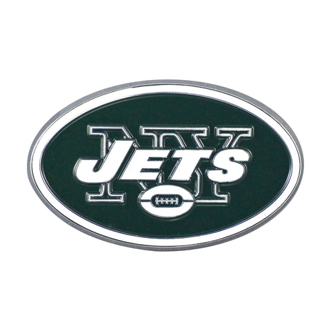 NFL - New York Jets Chrome Color Metal Emblem
