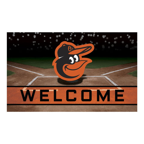 Baltimore Orioles Crumb Rubber Door Mat
