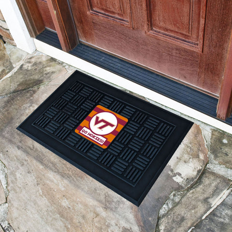 "Virginia Tech Southern Style Door Mat 19.5""x31.25"""