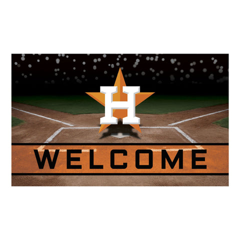 Houston Astros Crumb Rubber Door Mat