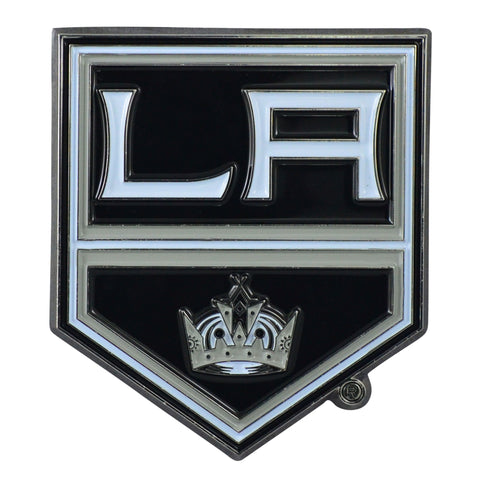 "Los Angeles Kings Color Metal Emblem 3""x3.2"""