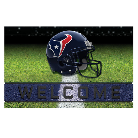 Houston Texans Crumb Rubber Door Mat