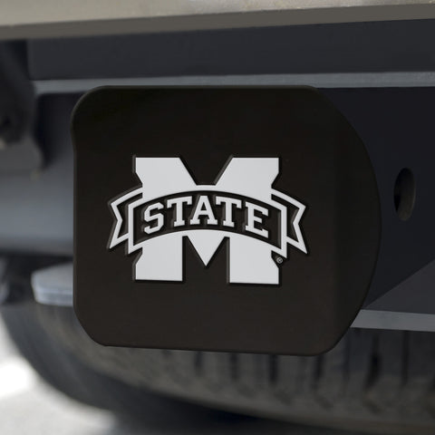 "Mississippi State Black Hitch Cover 4 1/2""x3 3/8"""