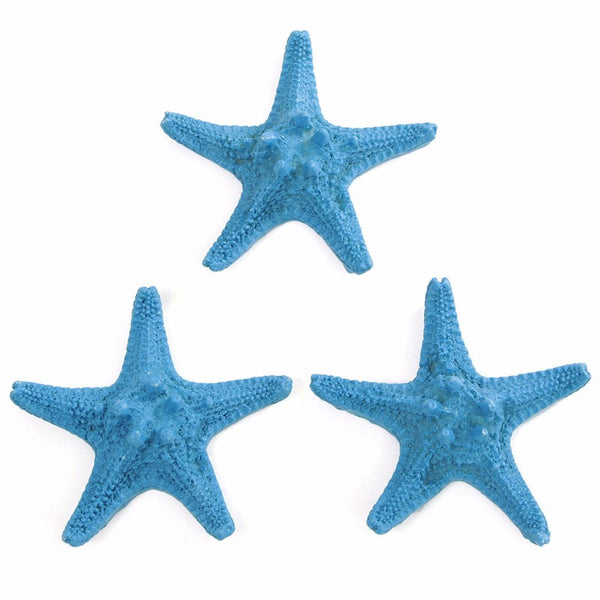 3Pcs Resin Starfish Decoration