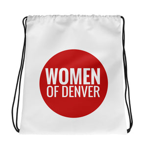 WOD Logo Drawstring bag