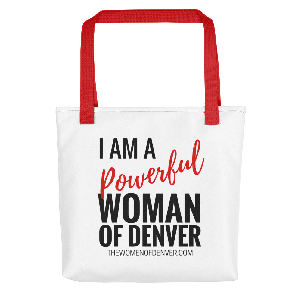 Powerful Woman of Denver Tote bag