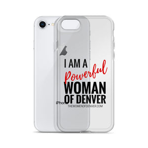 Powerful Woman of Denver iPhone Case