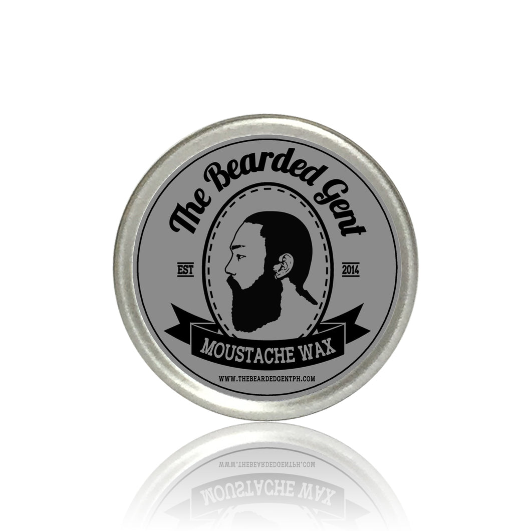 The Bearded Gent Moustache Wax 15g - The Bearded Gent