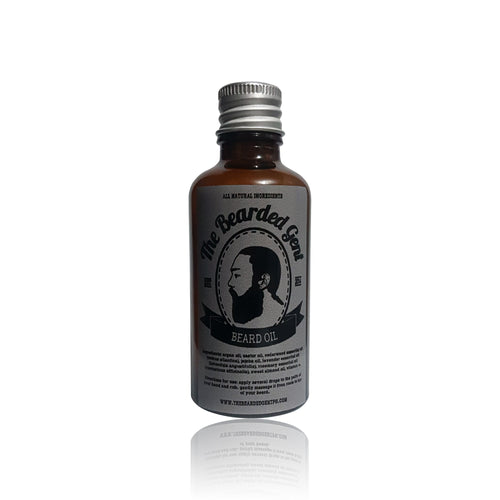 The Bearded Gent Beard Oil 50ml - The Bearded Gent