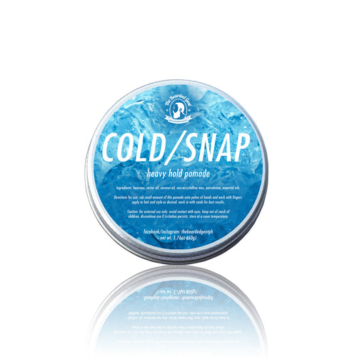 Coldsnap Pomade 50g (Oil Based) - The Bearded Gent