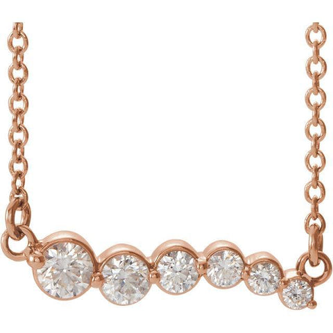 Diamond Graduated Necklace