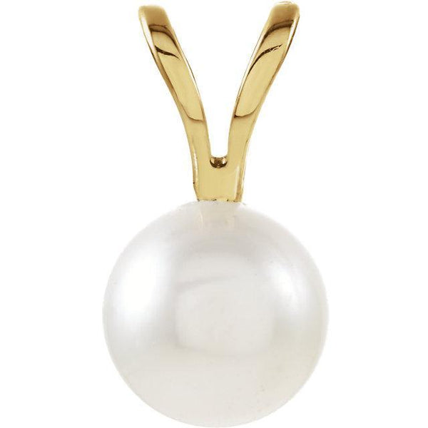 14K Akoya Cultured Pearl Pendant