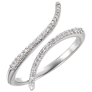14K 1/6 CTW Diamond Ring