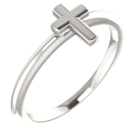 Stackable Cross Ring