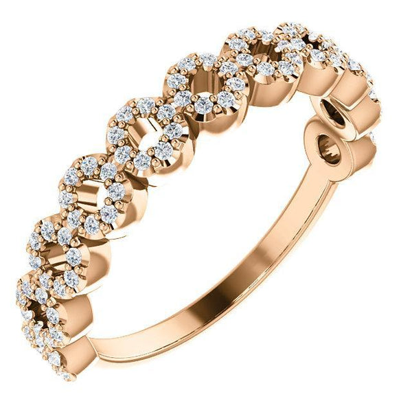 1/4 CTW Diamond Circle Ring