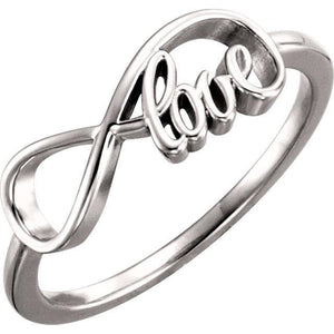 14K Love Infinity-Inspired Ring