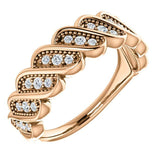 1/4 CTW Diamond Stackable Ring