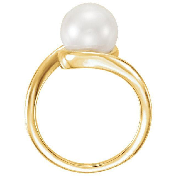 14K Freshwater Cultured Pearl Ring
