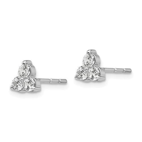 14k True Origin Lab Grown DIa VS/SI Colorless Earrings