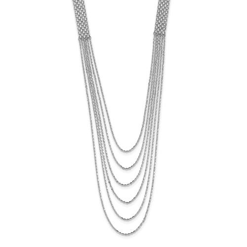 Leslie's Sterling Silver Multi-Strand Necklace
