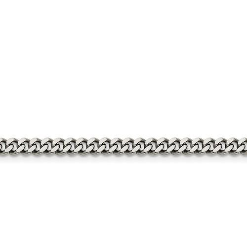 Stainless Steel 4mm Curb Chain