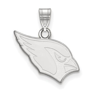 Sterling Silver Arizona Cardinals Small Pendant