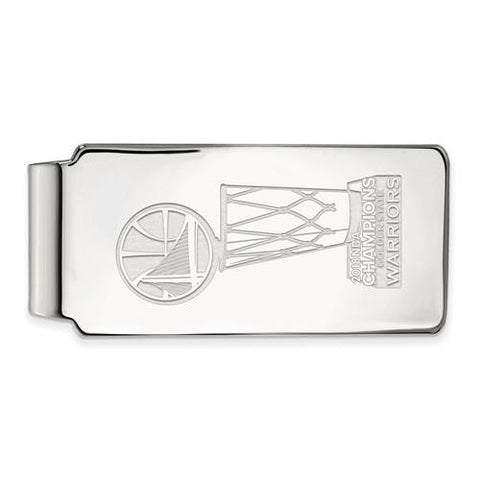 Sterling Silver 2018 NBA Championship Golden State Warriors Money Clip