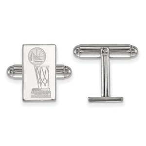 Sterling Silver 2018 NBA Championship Golden State Warriors Cuff Link