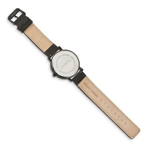 2904775caf315 Chisel Matte Black IP-Plated Black Dial Watch – Starving Jewelers