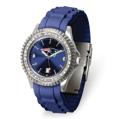 Gametime New England Patriots Ladies Sparkle Watch