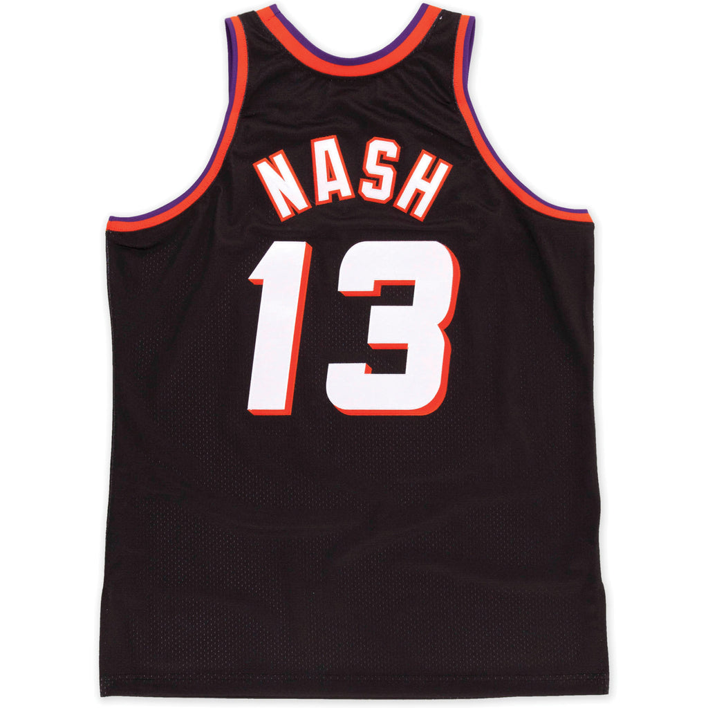 new concept cc31e 7afb0 NBA Phoenix Suns Steve Nash Hardwood Classics Throwback Home Jersey