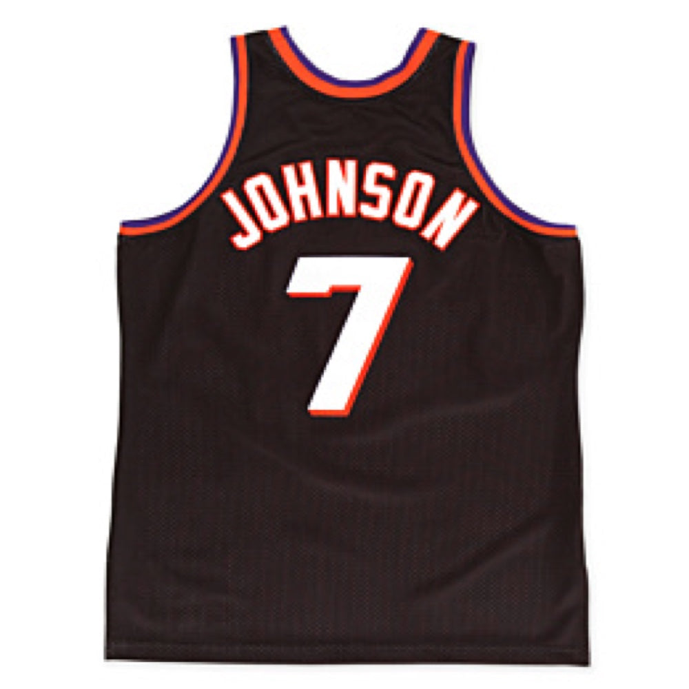new product 0ca3a 65498 NBA Phoenix Suns Kevin Johnson Hardwood Classic Throwback Home Jersey