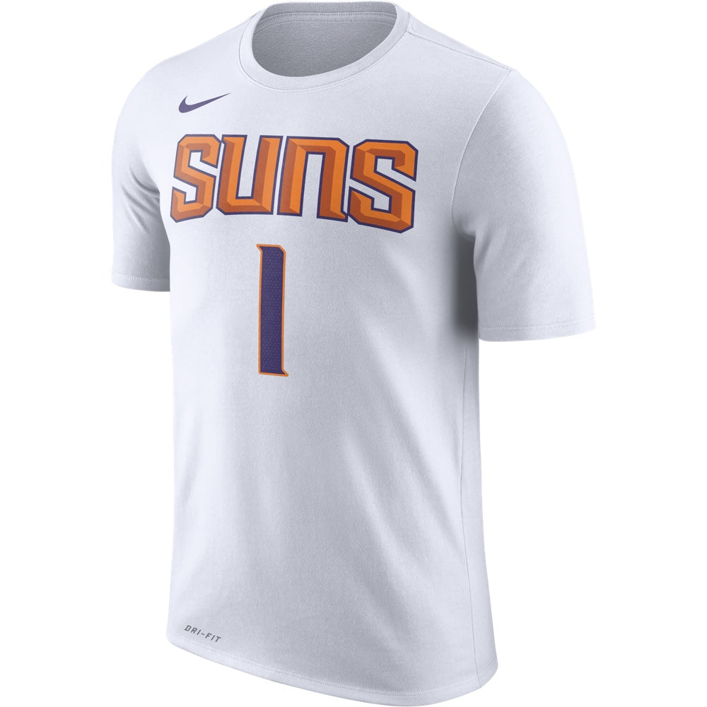 buy popular d813d a8b50 NBA Phoenix Suns Devin Booker Nike Dry Fit Name and Number Tee