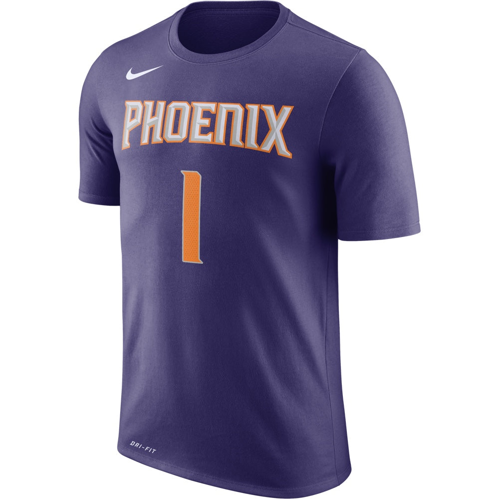factory authentic 6bd2d 8cdef NBA Phoenix Suns Devin Booker Youth Icon Name & Number Nike Tee