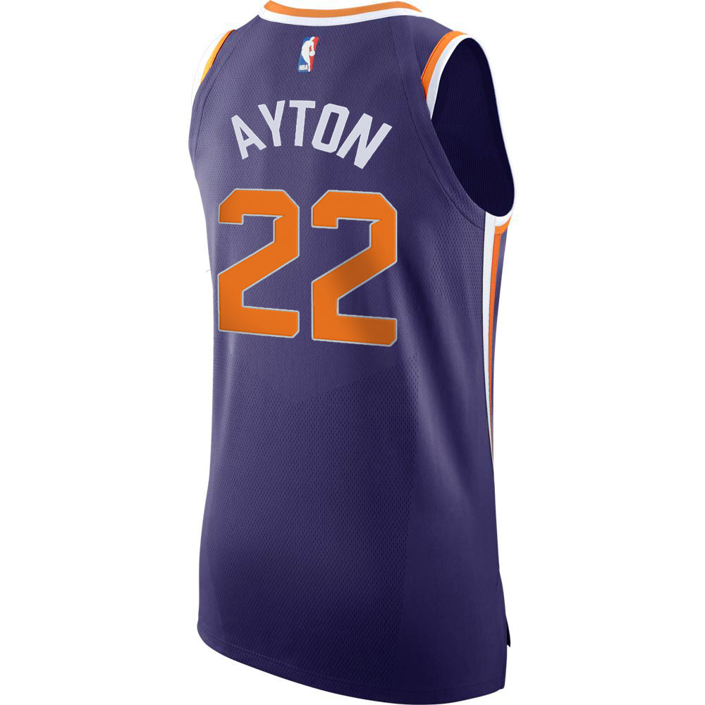 9a5e753369d NBA Phoenx Suns Deandre Ayton Nike Authentic Jersey Icon Edition - Pur –  Shop.Suns.com